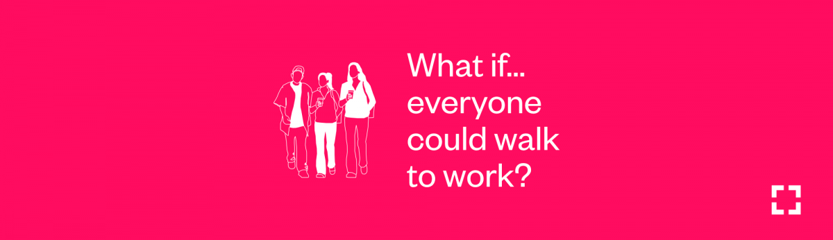 What if everyone could walk to work?