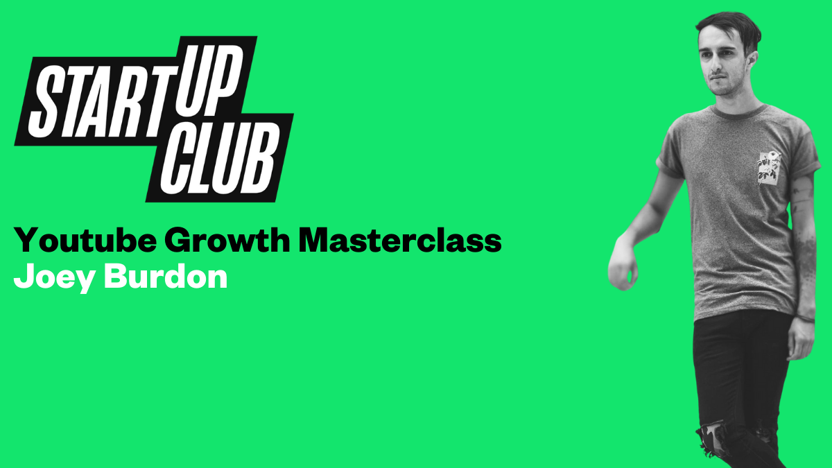 Youtube Growth Masterclass (online event)