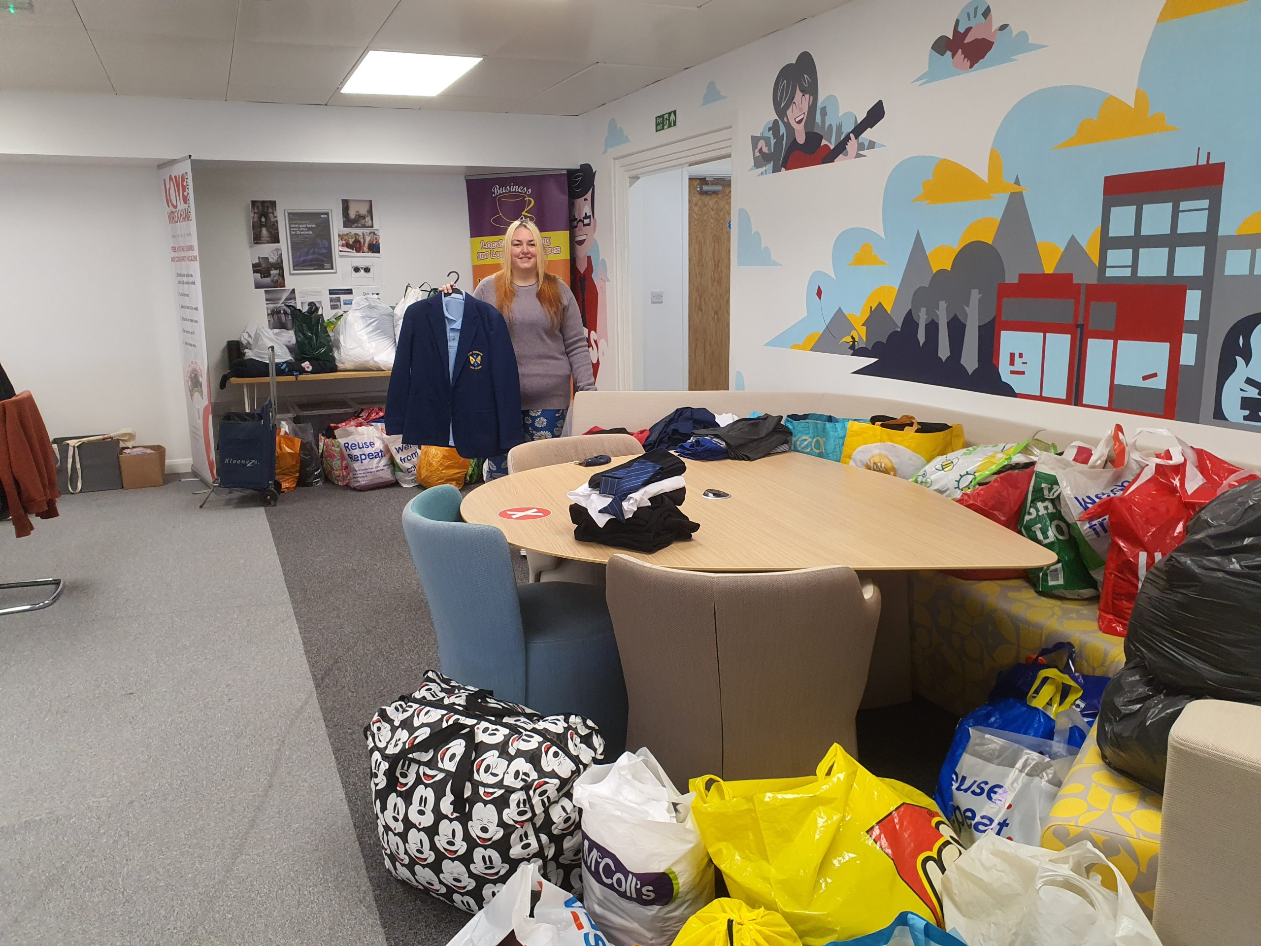 Wrexham's first uniform exchange launches to support families and reduce waste