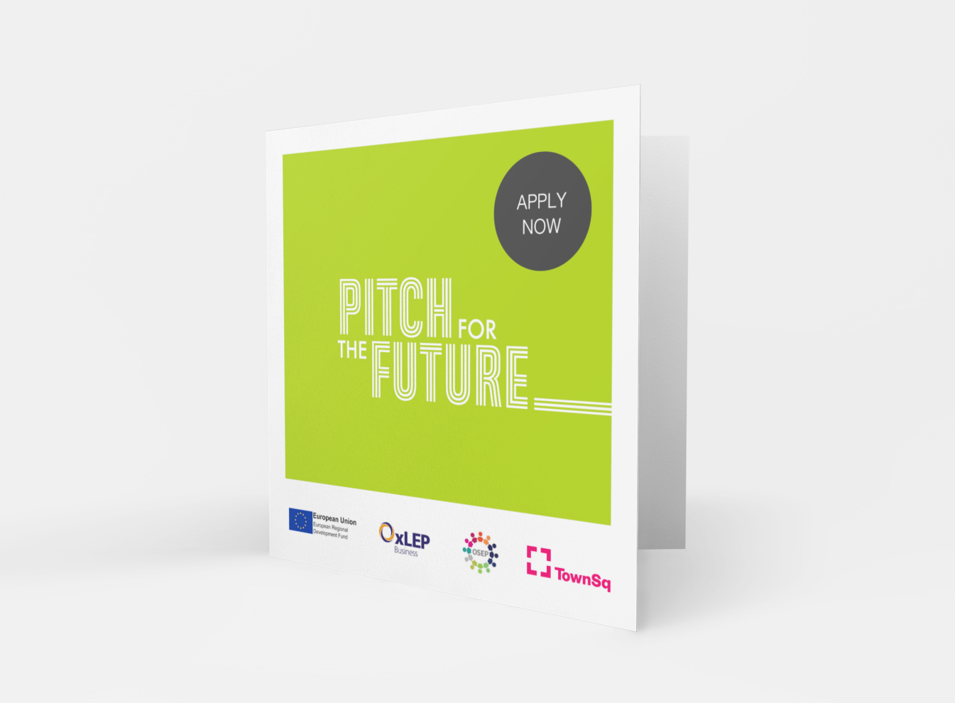 We're excited to launch 'Pitch for the future'.